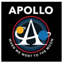 Apollo: When We Went to the Moon logo