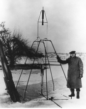 Robert Goddard and his rocket