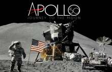 Apollo 50: Journey to the Moon exhibition logo