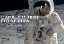 APOLLO 11: First Steps Edition screenings poster